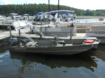 Fishing boat rentals on jordan lake for raleigh durham for Lake fishing boats